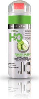 Ароматизированный любрикант на водной основе JO Flavored Green Apple H2O 160 мл, фото 2