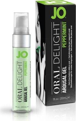 Лубрикант для оральных ласк Oral Delight - Peppermint Pleasure ментоловый 30 мл, фото 3