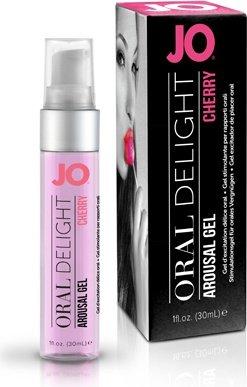 Лубрикант для оральных ласк Oral Delight - Cherry Burst вишневый 30 мл, фото 3