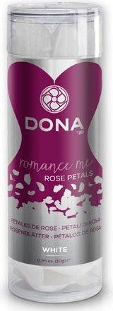 Декоративные лепестки dona rose petals white белые