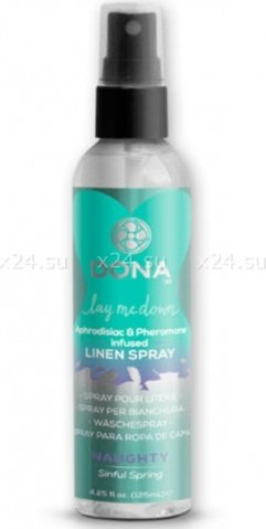 Освежающий спрей для одежды и белья Dona Linen Spray Naughty Aroma Sinful Spring