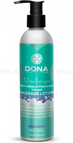 ����������� ������ ��� ������� dona massage lotion naughty aroma: sinful spring 235 ��