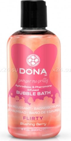 Пена для ванны Dona Bubble Bath Flirty Aroma Blushing Berry