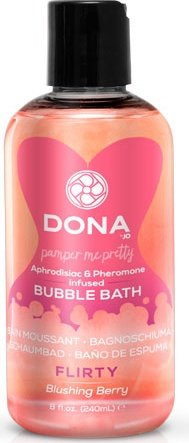 Пена для ванны Dona Bubble Bath Flirty Aroma Blushing Berry, фото 2