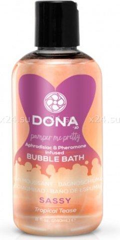 ���� ��� ����� Dona Bubble Bath Sassy Aroma Tropical Tease