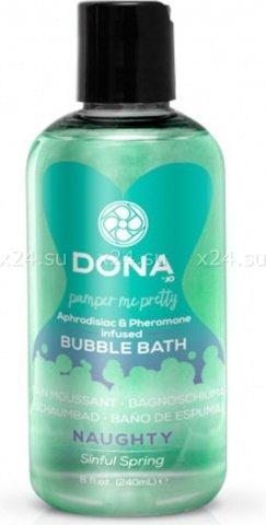 ���� ��� ����� Dona Bubble Bath Naughty Aroma Sinful Spring