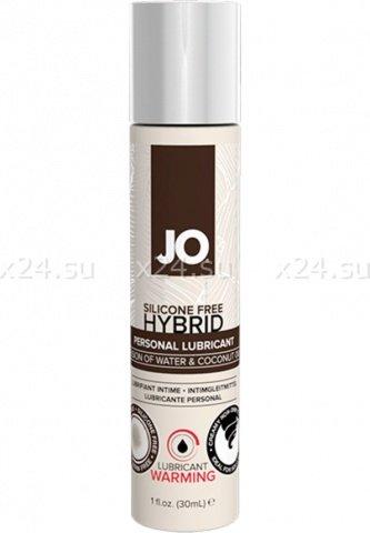 Лубрикант на водной основе hybrid lubricant warming (120 мл)