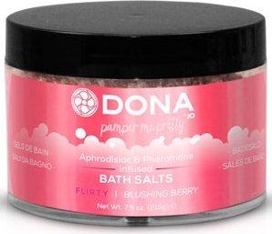 ���� ��� ����� dona bath salt flirty aroma: blushing berry 215 �, ���� 2