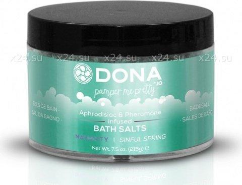 ���� ��� ����� �������� ���� ���� dona bath salt naughty aroma: sinful spring 215 �