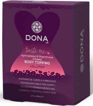 ��������� �������� ��� ���� � �������� ���� dona body topping lollipop, ���� 3