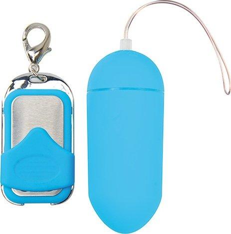 ������������ vibrating egg pleasure shiver large blue t4l-801009, ���� 4