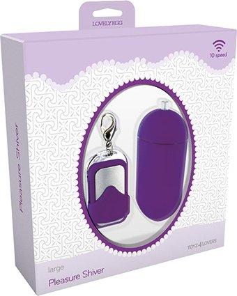������������ vibrating egg pleasure shiver large purple t4l-801010, ���� 4
