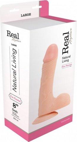 ������������� dildo real rapture flesh 8 inch t4l-00700683 17 ��, ���� 3