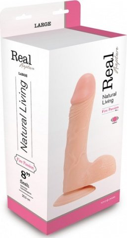 Вибратор real rapture vibe flesh 8 inch t4l-00903013 17 см, фото 2