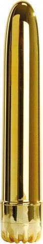 Вибратор classic gold large t4l-903078, фото 2