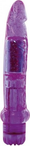 Вибратор jammy jelly dazzly glitter purple t4l-00903090 16 см