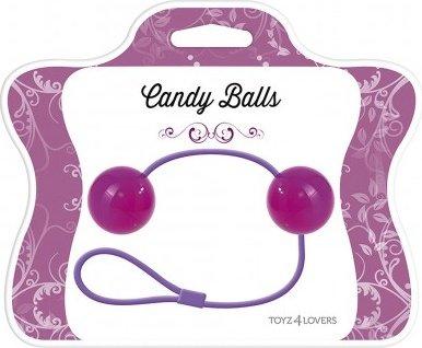 Вагинальные шарики candy balls purple t4l-00700749, фото 2