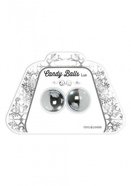 Вагинальные шарики candy balls lux silver t4l-00801365, фото 4