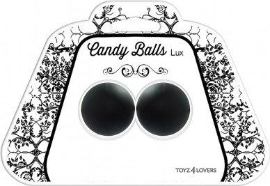 Вагинальные шарики candy balls lux black t4l-00801367, фото 2