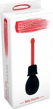 Анальный душ красный bestseller - baby t4l-800649, фото 2