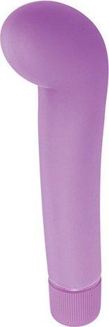 Вибратор G-pleasure stym фиолетовый T4L-903340 12 см