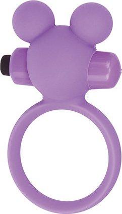 Эрекционное виброкольцоTeddy фиолетовое T4L-801786