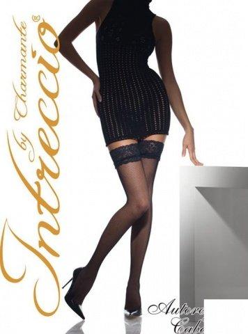 Cabaret, чулки, сетка, черные, размер L/XL, фото 4
