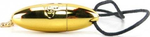 Вибропулька-кулон RO-VAL, золотой, 36 х108 мм, фото 2