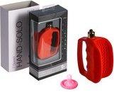 Мастурбатор открытого типа, красный | Вагины с вибратором | Интернет секс шоп Мир Оргазма
