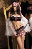 Костюм Горячая пиратка, цвет Белый, размер / | Пиратки и морячки | Секс-шоп Мир Оргазма
