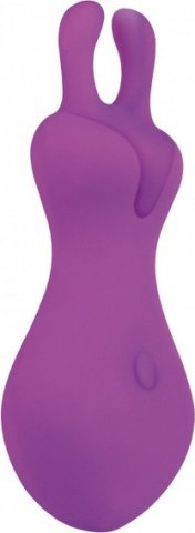 Вибромассажер Lust L1, силикон, фиолетовый
