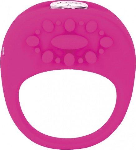 Вибронасадка Key by Jopen - Ela - Raspberry Pink розовая