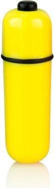 Желтая вибропуля Color pop, фото 2