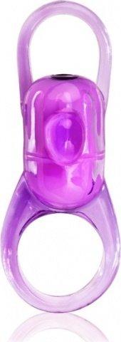 Фиолетовое кольцо на пенис RodeO Bucker, фото 2