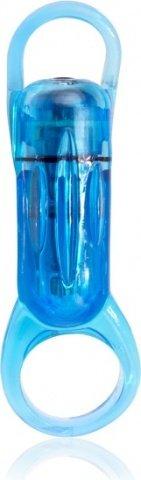 Голубое кольцо на пенис RodeO Spinner, фото 2