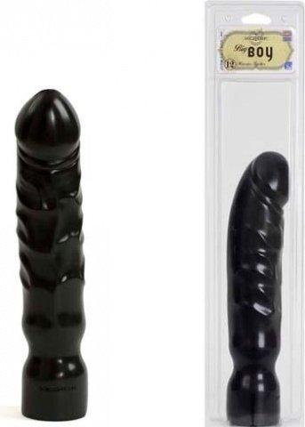 Пенис большой черный BIG BOY 31 см, фото 3
