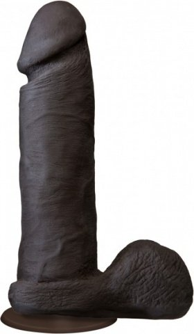 Фаллоимитатор реалистик черн. 8` 20 см