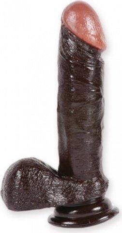 Фаллоимитатор реалистик 15 см черный