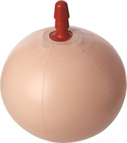 Надувной фитбол со штырьком для насадок vac-u-lock e-z rider ball with plug, фото 3