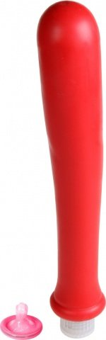 Вибратор красный водонепр. 27 см, фото 2