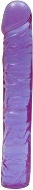 Гелевый фиалковый фаллоимитатор 10in 25 см, фото 5