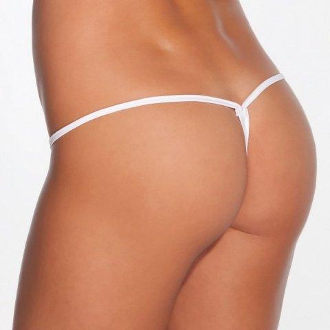 Эротические женские стринги мини белые, фото 2