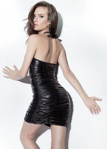 Платье с лаковой вставкой, фото 3