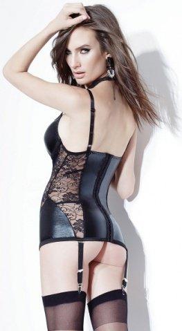 Черное платье с кружевом, фото 3