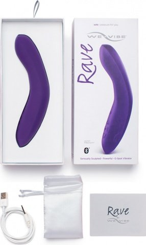 Вибратор We-Vibe Rave Purple, фото 4