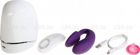 WE-Vibe 4 Plus (вивайб) Вибратор на радиоуправ. фиолетовый, фото 4