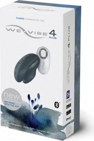 Дистанционный вибромассажер для пар We-Vibe 4 Plus (10 режимов), фото 3