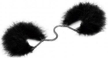 Перьевые наручники на цепочке Za Za Zu, фото 6