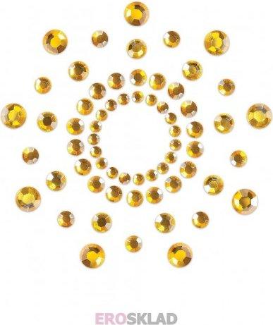 Наклейки на грудь, цвет Золотой, фото 3