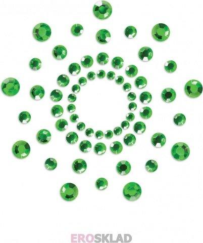 Наклейки на грудь, цвет Зеленый